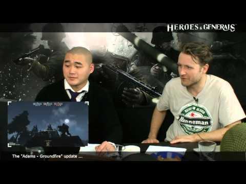 Heroes & Generals Devstream #58: Live from Copenhagen