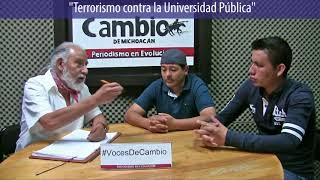 Voces de Cambio -  Terrorismo en la Universidad pública