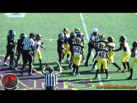 NOR CAL AYF American Youth Football Championships Highlights Cadets, Midgets & Jr Peewee Pt1
