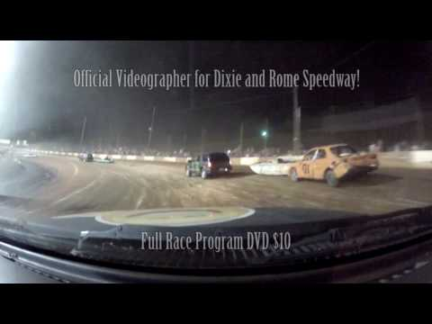 Dixie Speedway 8/13/16 Boat Race Ride Along!