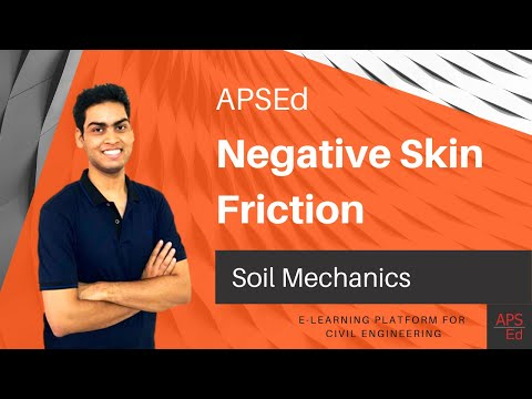 Negative skin friction - Pile | Soil Mechanics - YouTube