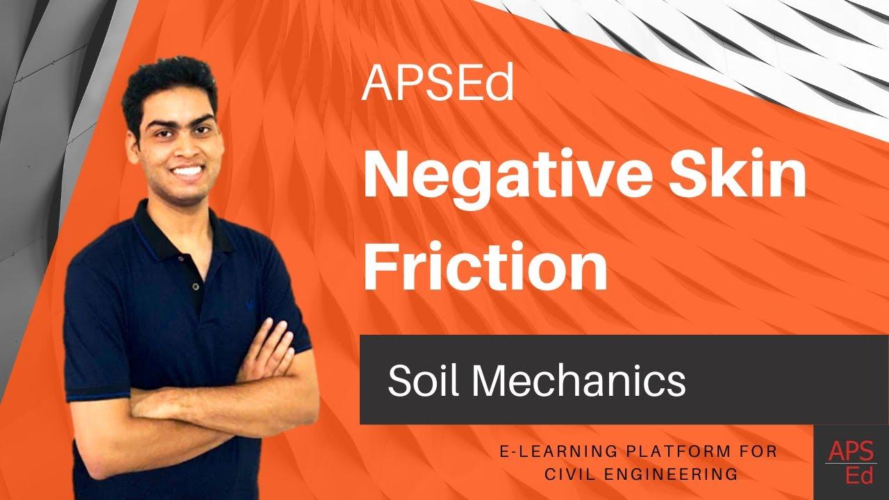 Negative skin friction - Pile | Soil Mechanics