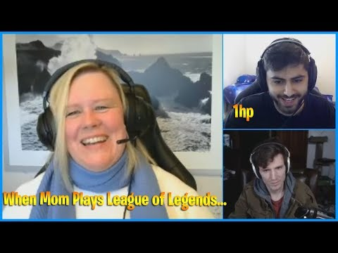 When Mom Plays League of Legends... | Yassuo 1 Hp Survival | LoL Daily Moments Ep 700