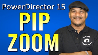 how to Scale & Resize a PIP Window  CyberLink PowerDirector 15 Ultimate