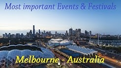 EVENTS AND FESTIVALS IN MELBOURNE AUSTRALIA