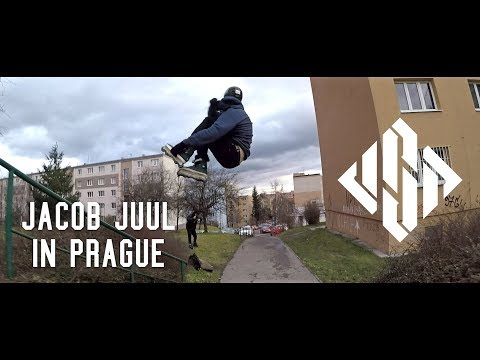 Jacob Juul in Prague - USD Aeon 60 Hooi skates
