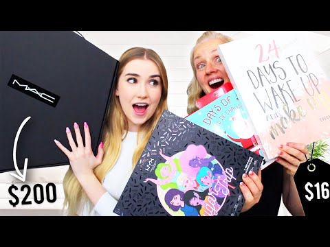 Opening BEAUTY Advent Calendars W/ Mama Maples !!