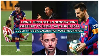 For today's videos we will discuss the report that has came out stating messi leave in 2021. he currently does want to stay his current contract...