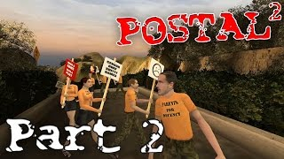 "Postal 2  ►""Games Are Bad!"" Part 2 ( Gameplay Playthrough / Walkthrough )"