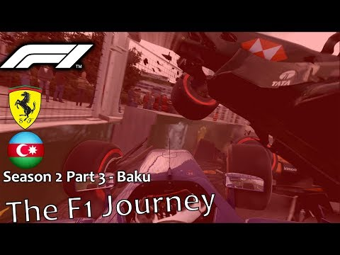 The F1 Journey Season 2 Part 3 - Azerbaijan (The Most Hecitc Race Yet)