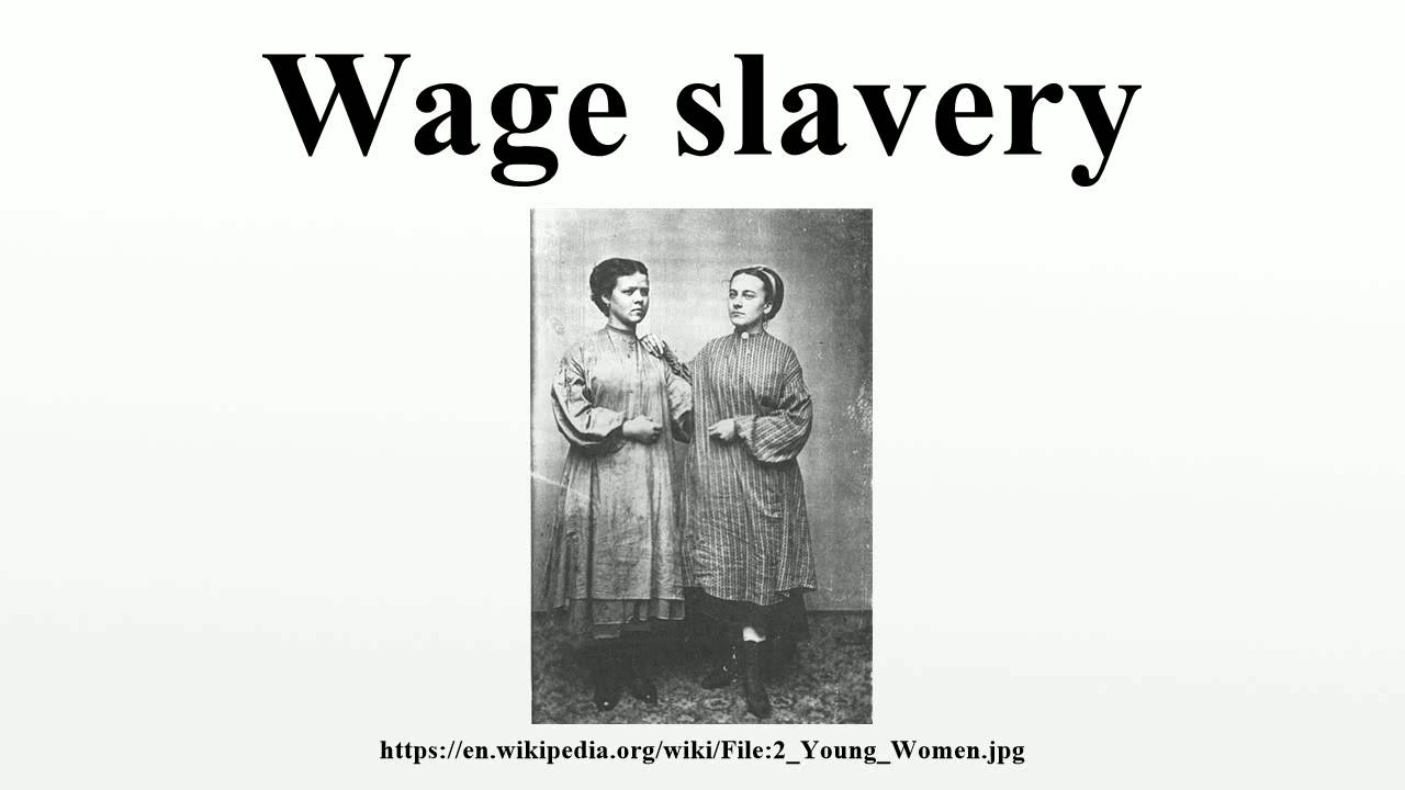 wage slavery versus southern slavery Africa, the arrival of europeans and the transatlantic slave trade  them to work  for the plantation masters for many years on very low wages  over 85 million  africans (compared to 25 million europeans) crossed the atlantic in this period.