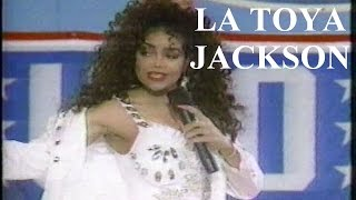 "La Toya Jackson Rare Performance of ""Be My Playboy"" at Air Force Base in 1990"