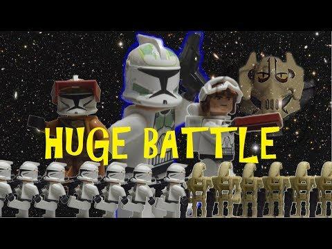 lego star wars battle of Dandaran I part 1