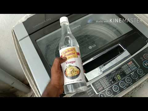 How to do Maintainance & Tub Clean for  top Load washing Machine in telugu