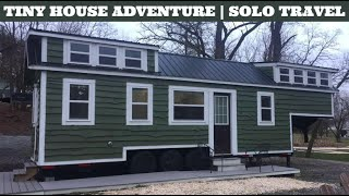 Staying In A Tiny House In Lancaster, Pa | Solo Travel Vlog