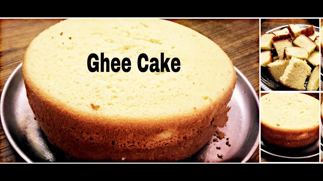 Ghee Cake Recipe Without Oven