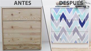 Gambar cover DIY: Decorar un mueble IKEA con un vinilo