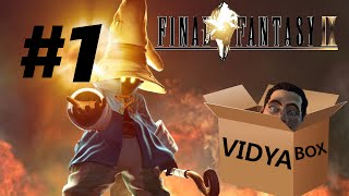 Let's Play Final Fantasy IX - Part 1 - Ziddy the Right Handed Jailbait