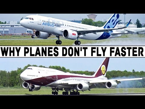 WHY DO WE FLY SO SLOWLY?