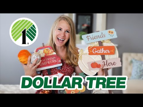 DOLLAR TREE FALL DIYS 2020! 🍁 High-end Ideas Anyone Can Do! (even If You Suck At Crafting)