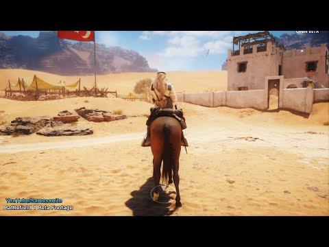 Battlefield 1 Beta Riding Horse