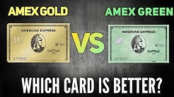 NEW Amex Green VS NEW Amex Gold