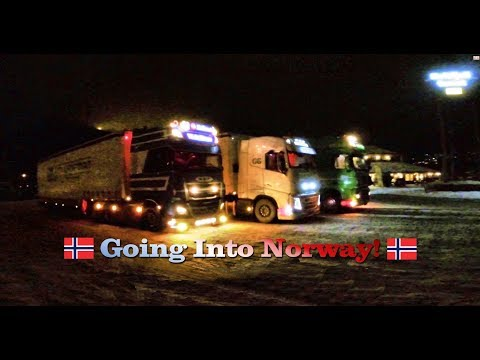 Going into Norway - Trip to Hammerfest - WV 07