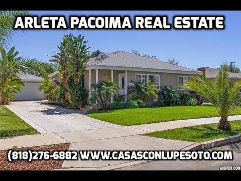 ARLETA home for sale CASA en venta San Fernando Valley