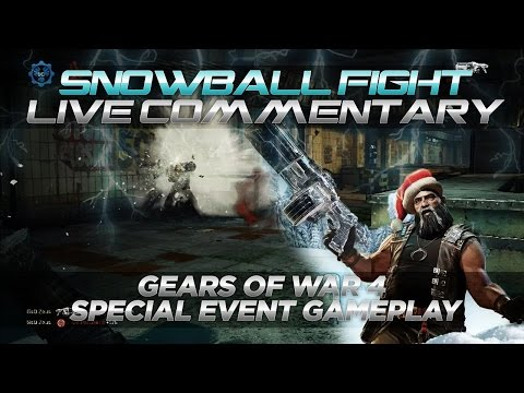 SNOWBALL FIGHT!!! - Special Event Playlist (Gears of War 4 Full Multiplayer Gameplay)