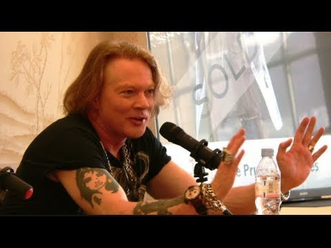 Guns N' Roses Axl Rose On Why He Didn't Like Slash's Book