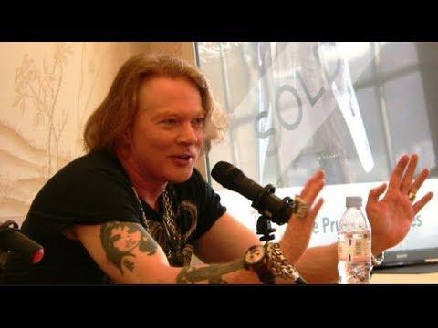 Guns N' Roses Axl Rose On Why He Didn't Like Slash's Book