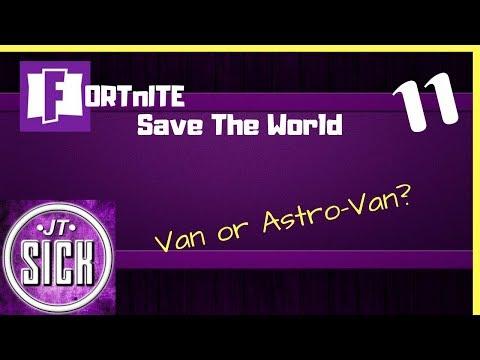 Fortnite: Gameplay Ep.11 - Van or Astro-Van?