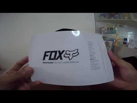 2017 Fox Proframe Helmet
