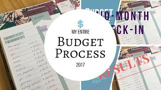 My ENTIRE Budgeting Process | My Process from Start to Finish |