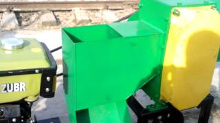Измельчитель веток, рубильная машина  для мотоблока