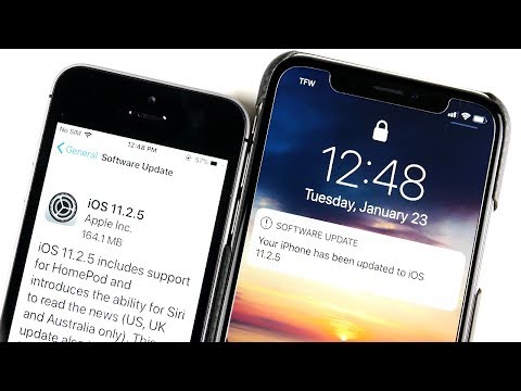 iOS 11.2.5 Released! -  A Must Update