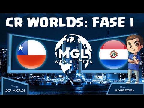 Mundial de Clash Royale | CHILE VS PARAGUAY , ELIMINATORIAS | TheGameHuntah | CR Worlds