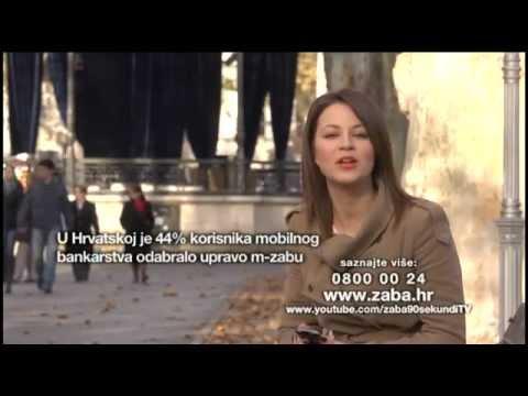 ZABA 90 Sekundi - M-zaba, Mobilno Bankarstvo Zagrebačke Banke