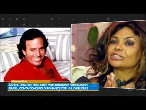 Adele Fátima conta detalhes do seu romance com o cantor Julio Iglesias