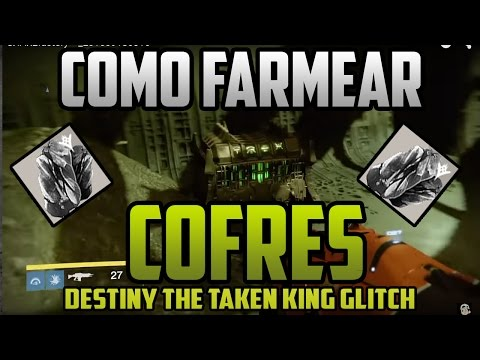 """Destiny  Como farmear cofres Rapido  - TAKEN KING """"Infinite"""" Loot Chest Spawn Glitch - Hadium Flakes"""