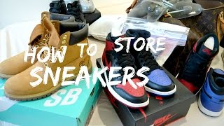 How To Store Preserve Sneakers