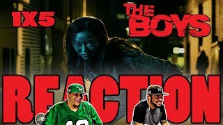 "THE BOYS SEASON 1 EPISODE 5 REACTION ""GOOD FOR THE SOUL"""