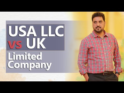Which Is The Best Among USA LLC VS UK Limited Company