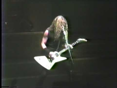 Metallica - Live in Quebec City, QC, Canada (1986) [Full show]