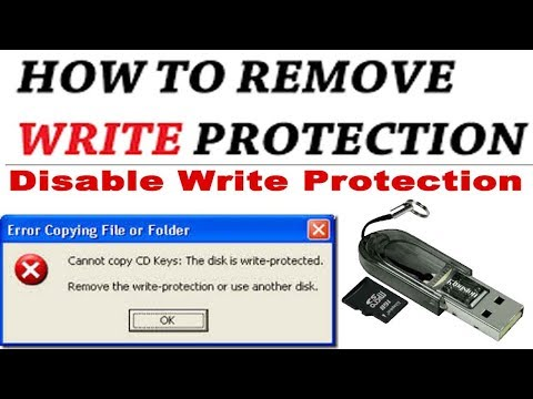 How to write protect and unwrite protect your usb flash... | Doovi