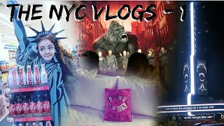 KING KONG THE MUSICAL ON BROADWAY! NYC Vlogs 2019
