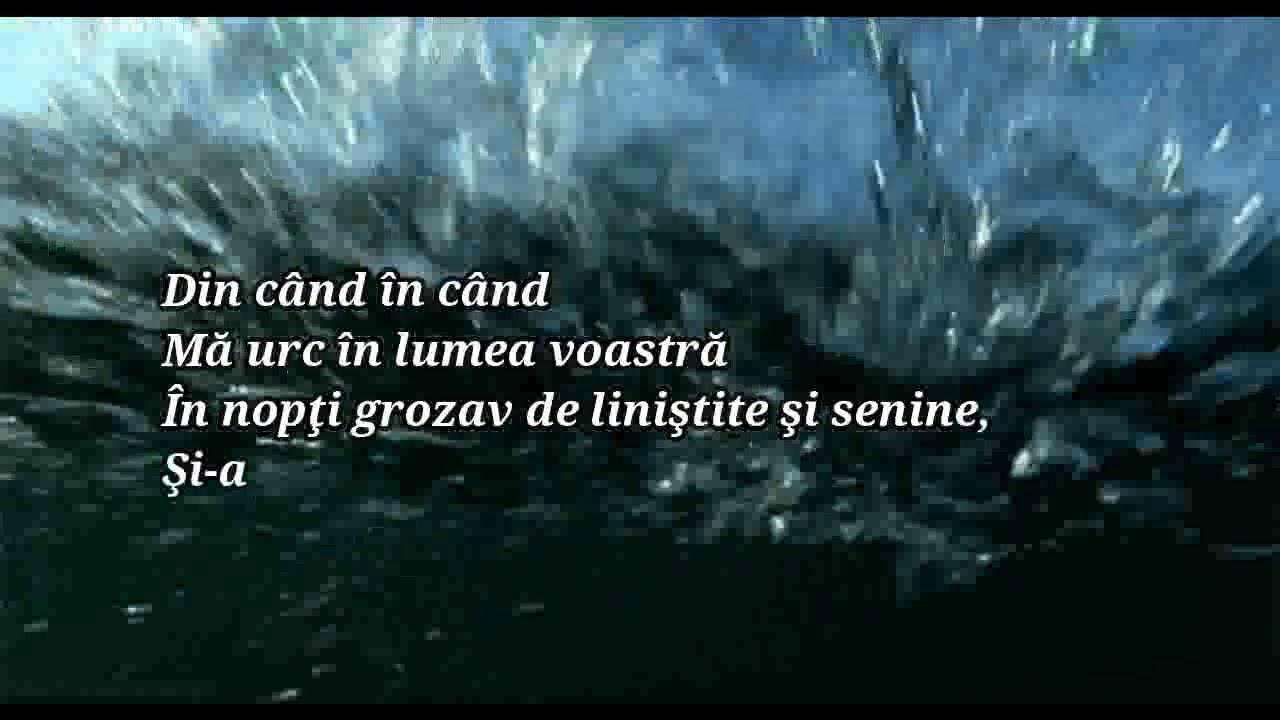 Nicolae Labiș - Sunt spiritul adâncurilor   #2 Poezia de la 21