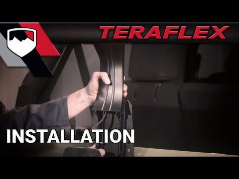 TeraFlex Install: JK 3rd Brake Light Adjustable Extension Bracket (4997220)