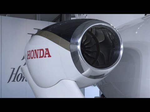 Honda Aero Unveils First North Carolina Production HondaJet HF120 Engine – AINtv