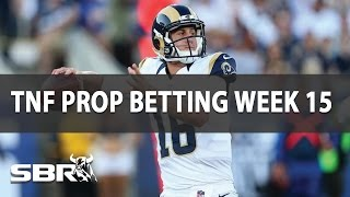 NFL Picks | Thursday Night Football Prop Betting | Rams vs. Seahawks